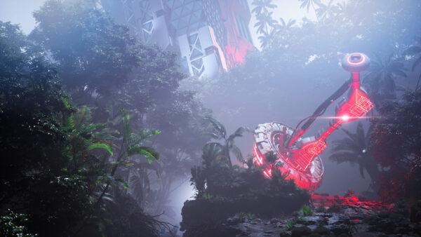 finn-meinert-matthiesen-ue4-futuristic-tropical-garden-study-01-finn-meinert-matthiesen-image-19-night-scaled