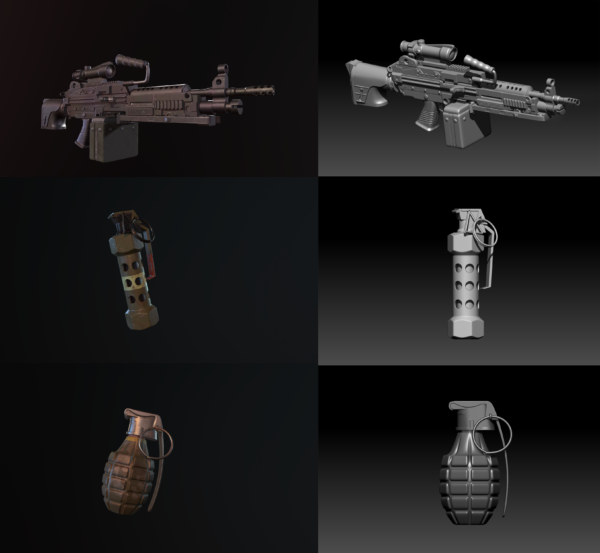 Weapons_Zbrush