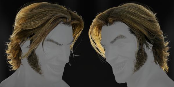 1-hair
